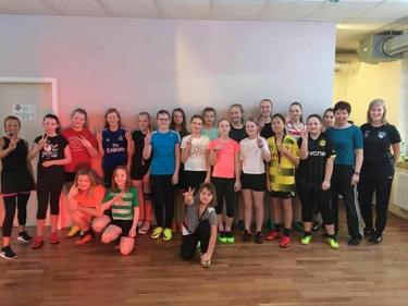 D-Juniorinnen im Sports