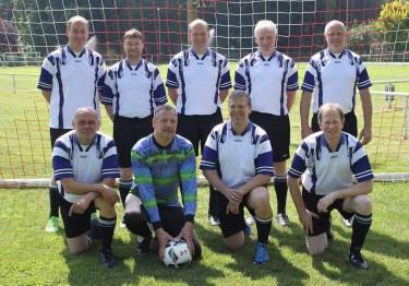 Neues Mannschaftsfoto der Altliga