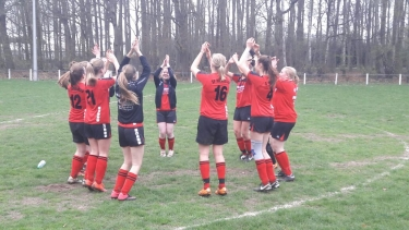 A- Juniorinnen besiegen JSG Drentwede mit 2:0 !