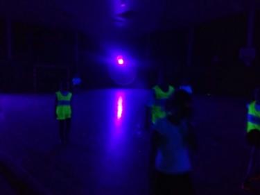 Schwarzlicht Training in Ehrenburg